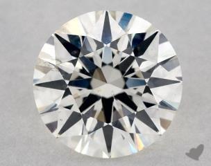 Round 0.80, color H, SI2  Very Good diamond