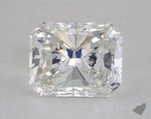 Radiant 2.18, color F, VVS1  Very Good diamond