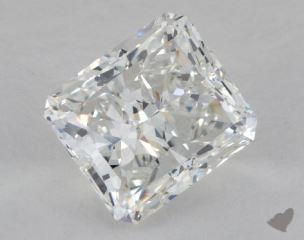 Radiant 3.03, color F, VVS2  Very Good diamond
