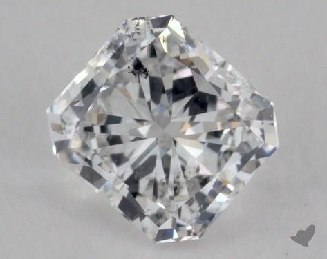 Radiant 0.54, color D, I1  Very Good diamond