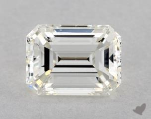 Emerald 1.49, color J, VS2  Very Good diamond