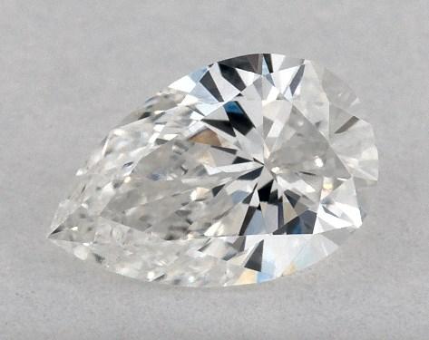 Pear 0.23, color E, SI1  Very Good diamond