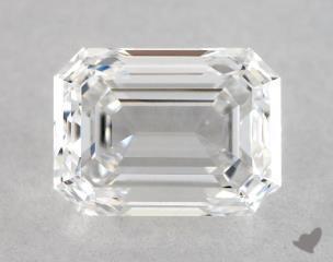 Emerald 0.72, color D, VVS2  Good diamond