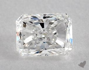 Radiant 0.91, color E, VS1  Good diamond