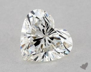 Heart 0.91, color J, SI2  Very Good diamond