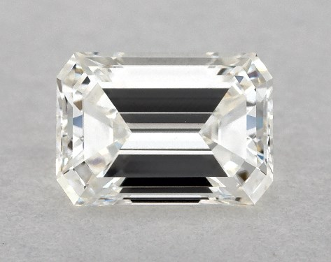 Emerald 0.43, color H, VVS2  Good diamond