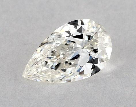 Pear 0.33, color I, SI1  Very Good diamond