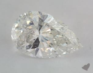 Pear 2.51, color I, I1  Very Good diamond