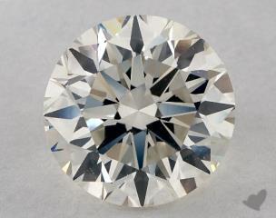 Round 2.77, color J, SI1  Very Good diamond