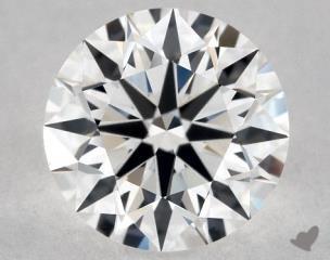 Round 0.91, color F, VVS2  Excellent diamond