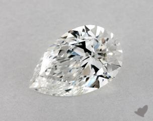 Pear 0.80, color E, VS2  Ideal diamond