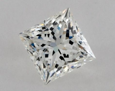 Princess 0.51, color G, IF  Ideal diamond