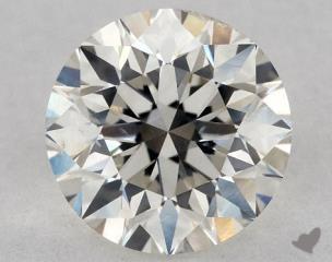 Round 0.80, color J, SI1  Very Good diamond