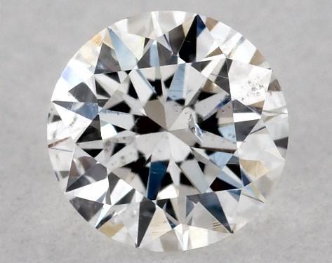 Round 0.23, color E, SI2  Excellent diamond