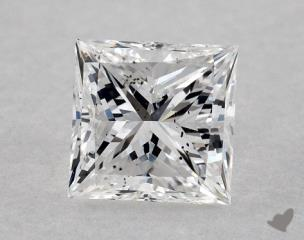Princess 0.59, color E, SI1  Very Good diamond