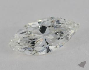 Marquise 1.11, color G, SI2  Very Good diamond