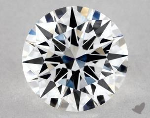 Round 1.41, color E, VVS2  Excellent diamond
