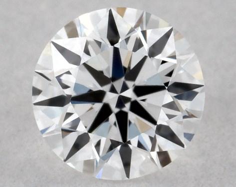 Round 0.20, color D, VVS2  Excellent diamond