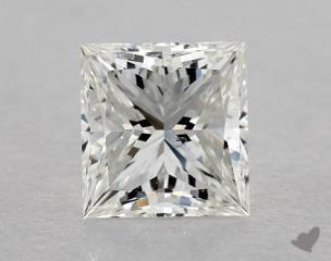 Princess 1.03, color H, SI1  Ideal diamond