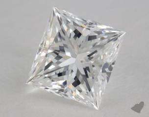 Princess 1.02, color E, VVS1  Very Good diamond