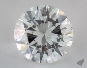 Round 1.13, color H, SI1  Good diamond