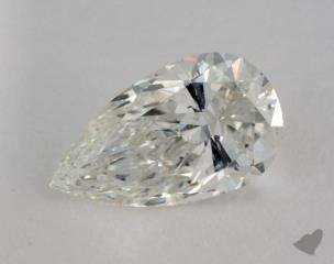 Pear 2.09, color I, SI2  Very Good diamond