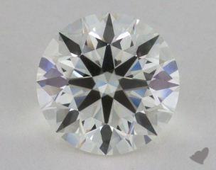Round 5.06, color H, IF  Excellent diamond
