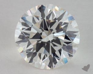 Round 5.46, color H, VVS1  Excellent diamond