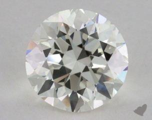Round 6.00, color I, VS1  Very Good diamond