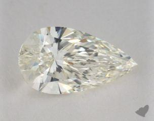 Pear 3.28, color J, VS1  Very Good diamond