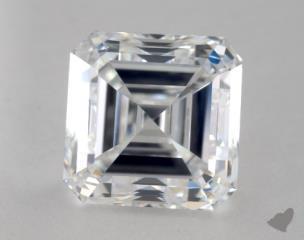 Asscher 2.75, color E, VS1  Very Good diamond