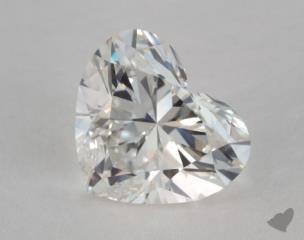 Heart 2.07, color H, VS2  Very Good diamond