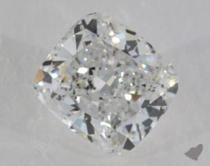 Cushion 3.72, color E, SI1  Very Good diamond