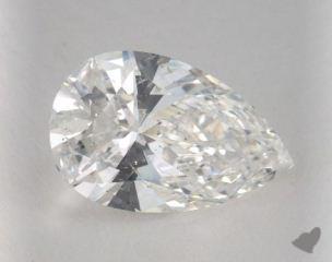 Pear 5.18, color F, SI2  Very Good diamond