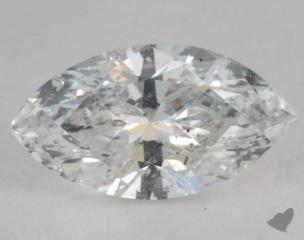 Marquise 0.71, color D, I1  Very Good diamond