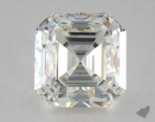 Asscher 5.02, color J, VS2  Very Good diamond