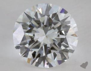 Round 5.04, color D, SI1  Excellent diamond