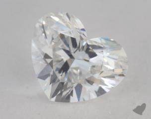 Heart 1.02, color E, VS2  Very Good diamond