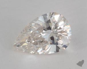 Pear 3.07, color I, SI1  Very Good diamond