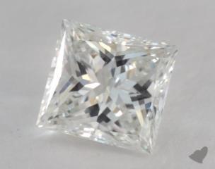 Princess 1.03, color G, VVS1  Very Good diamond