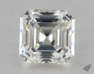 Asscher 2.05, color J, VS1  Very Good diamond
