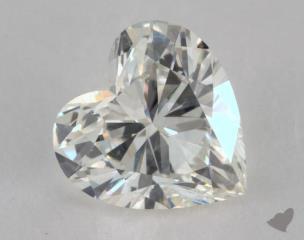 Heart 0.95, color J, SI1  Very Good diamond