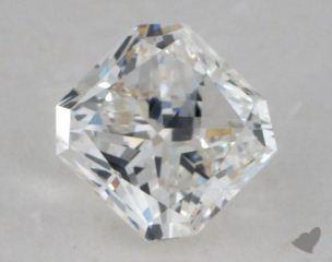 Radiant 0.99, color G, VS1  Very Good diamond