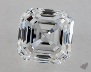 Asscher 2.02, color D, VS2  Very Good diamond