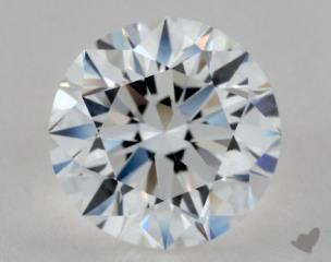 Round 2.03, color E, VVS1  Very Good diamond