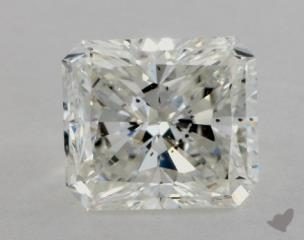 Radiant 2.73, color I, SI1  Very Good diamond