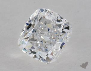 Cushion 0.71, color D, VS2  Good diamond