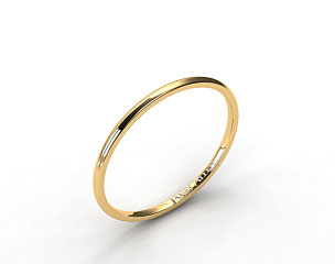 18k Yellow Gold 1 5mm Comfort Fit Wedding Ring