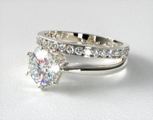 details - Engagement And Wedding Ring Set