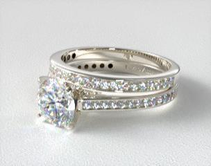 wedding and engagement ring sets jamesallencom - Engagement And Wedding Ring Sets